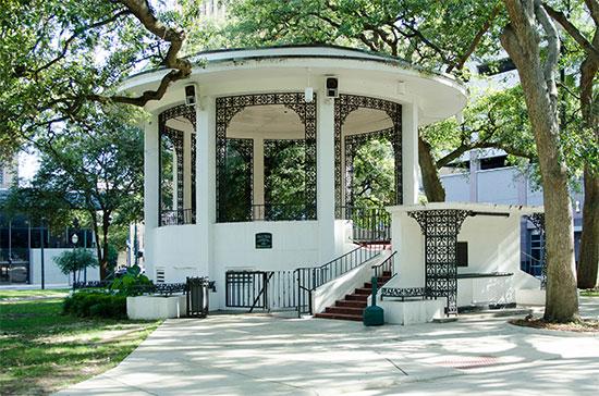 Bienville Square Park - Gazebo