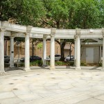 Cathedral Square Park Colonnade