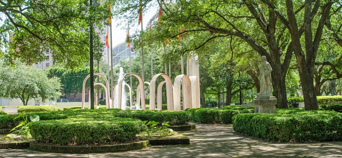 plaza park downtown parks conservancy